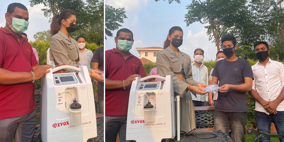 उर्वशी रौतेला, 27 ऑक्सीजन उत्तराखंड में कोरोना पीड़ितों की मदद करने के लिए देने के लिए आई आगे, लोग कर कर रहे?