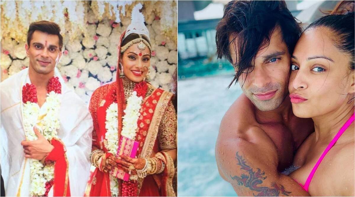 बिपाशा बसु, करण सिंह ग्रोवर ने शादी की मनाई पांचवीं सालगिरह