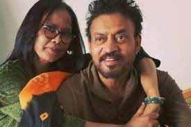 इरफान खान की पत्नी सुतापा ने इस बात का जताया शोक, जाने ऐसा कोनसा कारण आ गया अब
