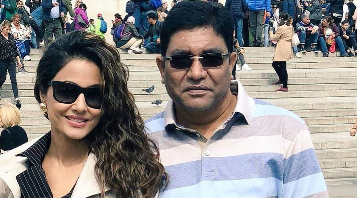 हिना खान ने सोशल मीडिया पर बताया कि क्यों उन्होंने सभी से 'पिताजी और उनके परिवार' के लिए प्रार्थना करने को कहा