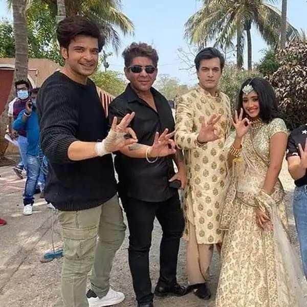 ये रिश्ता क्या कहलाता है: करण कुंद्रा ने सह-कलाकारों शिवांगी जोशी और मोहसिन खान को?