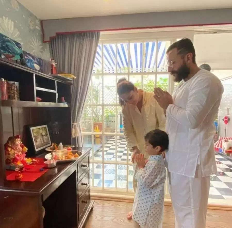 करीना कपूर खान के घर आए बप्पा, फैंस को दी गणेश चतुर्थी की शुभकामनाएं