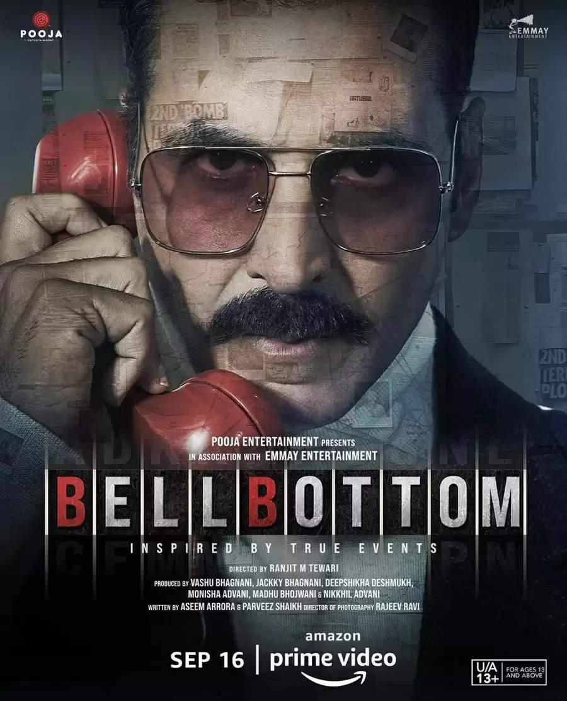 """16 सितंबर को अमेज़न प्राइम वीडियो पर रिलीज हो रहीं हैं अक्षय कुमार की """"बेल बॉटम"""""""