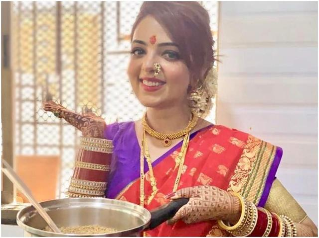 सुगंधा मिश्रा ने ससुराल वालों के लिए बनाई ये खास डिश, देखे तस्वीरे