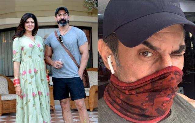 पूजा बत्रा ने पति नवाब शाह के साथ की सोशल मीडिया पर