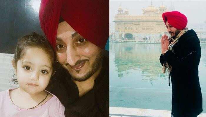 """इंद्रजीत निक्कू ने अपनी बेटी के साथ एक तस्वीर साझा करते हुए कहा, """"भगवान ने बेटियों को...."""