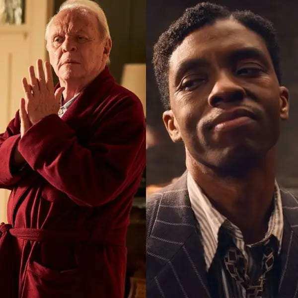 ऑस्कर 2021: एंथनी हॉपकिंस के सर्वश्रेष्ठ अभिनेता ने द फादर के लिए दिवंगत चैडविक बोसमैन के मा रेनी के ब्लैक बॉटम के किया